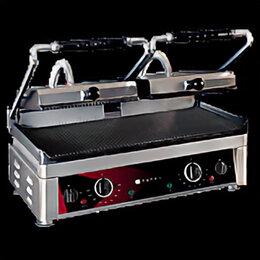 Электрические грили и шашлычницы - Гриль контактный tatra TCG 5224 R R R+R (Турция), 0