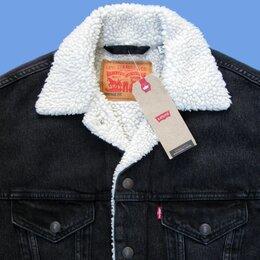 "Куртки - куртка шерпа Levi's Vintage Fit Sherpa Trucker Jacket ""Midnight"" (новая), 0"