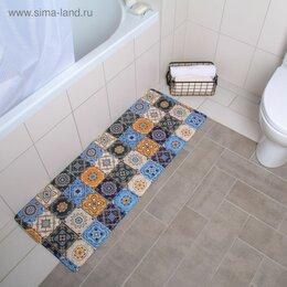 Дизайн, изготовление и реставрация товаров - Коврик для ванной «Богемия» 450*1200 мм 4568722, 0