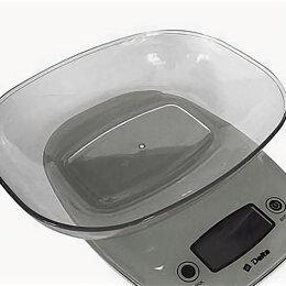 Кухонные весы - Весы электронные настольные delta KCE-33 с чашей, 0