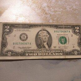 Банкноты - Банкнота 2 доллара 2003 сша, 0