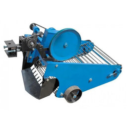 Спецтехника и навесное оборудование - Картофелекопалка КРЮЧКОВ КТ2 к ременному мини трактору, 0