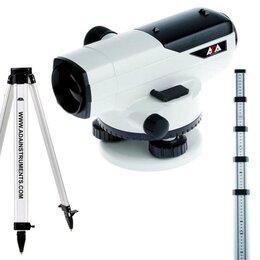 Измерительные инструменты и приборы - Комплект ADA Нивелир PROF X32 + рейка STAFF 5 + штатив Light S , 0