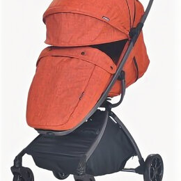 Коляски - Коляска прогулочная Everflo Easy guard E-338 mango оранжевый, 0