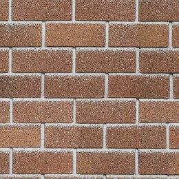 Облицовочный камень - Фасадная плитка Hauberk Красный Кирпич 1000х250х3,3мм 2м2/уп, 0