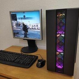 Настольные компьютеры - Игровой компьютер Intel 16Gb SSD+HDD GT1030 GDDR5, 0