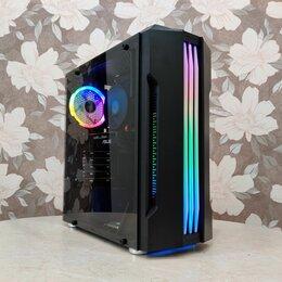 Настольные компьютеры - Игровой компьютер 8 ядер 16 потоков/rx 580 8гб/16, 0