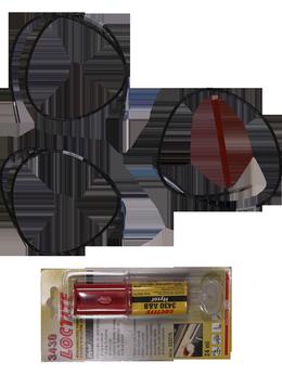 Дистанционное управление - Kit, Temp. sensors PT100 Fr 58-70, 0