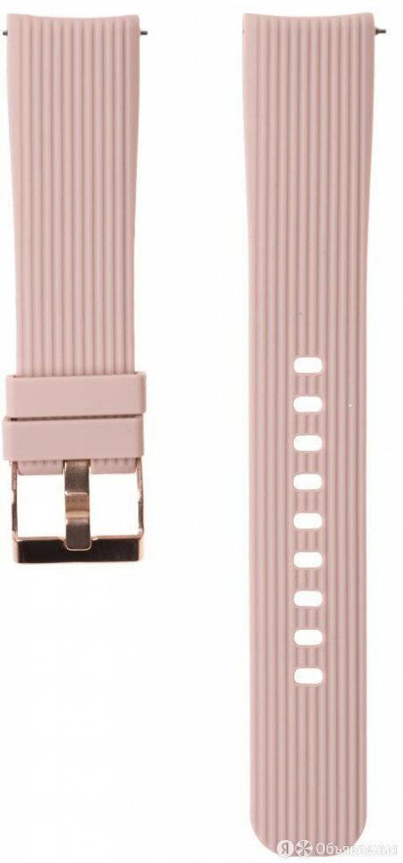 Ремешок силиконовый GSMIN Italian Collection 20 дл по цене 480₽ - Ремешки для часов, фото 0