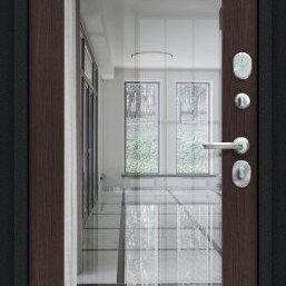 Входные двери - Дверь входная Флэш 119.Б15 NEW Букле черное/Wenge Veralinga, 0