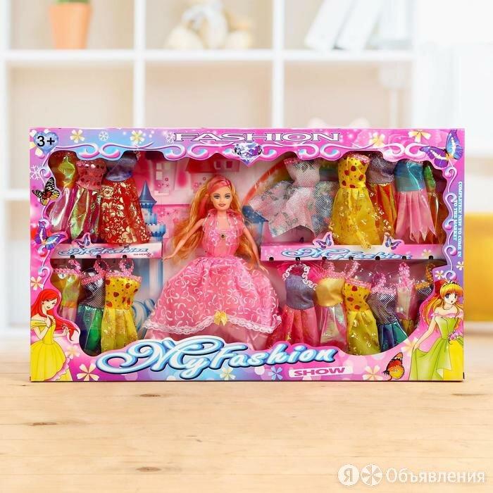 Кукла-модель 'Оля' с набором платьев и аксессуарами, МИКС по цене 1850₽ - Куклы и пупсы, фото 0
