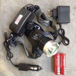 Аксессуары и комплектующие - Супер яркий налобный светодиодный фонарь, 0