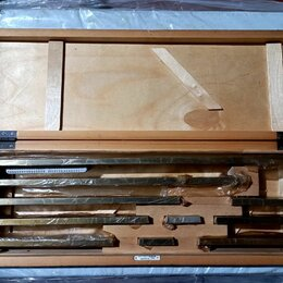 Измерительные инструменты и приборы - Меры длины концевые КМД 8 кл.1 СССР, 0