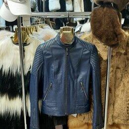Куртки - Куртка кожаная р-р 42, 0