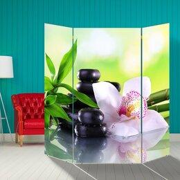 """Ширмы - Ширма """"Орхидея с бамбуком"""", 160 × 160 см, 0"""