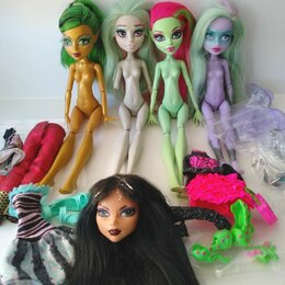 Куклы и пупсы - Монстер хай нюд, запчасти, одежда, аксессуары, 0