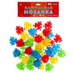 Мозаика - Мозаика напольная, 40 элементов, в пакете, 0