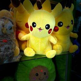 Мягкие игрушки - Покемон пикачу мягкая игрушек, 0
