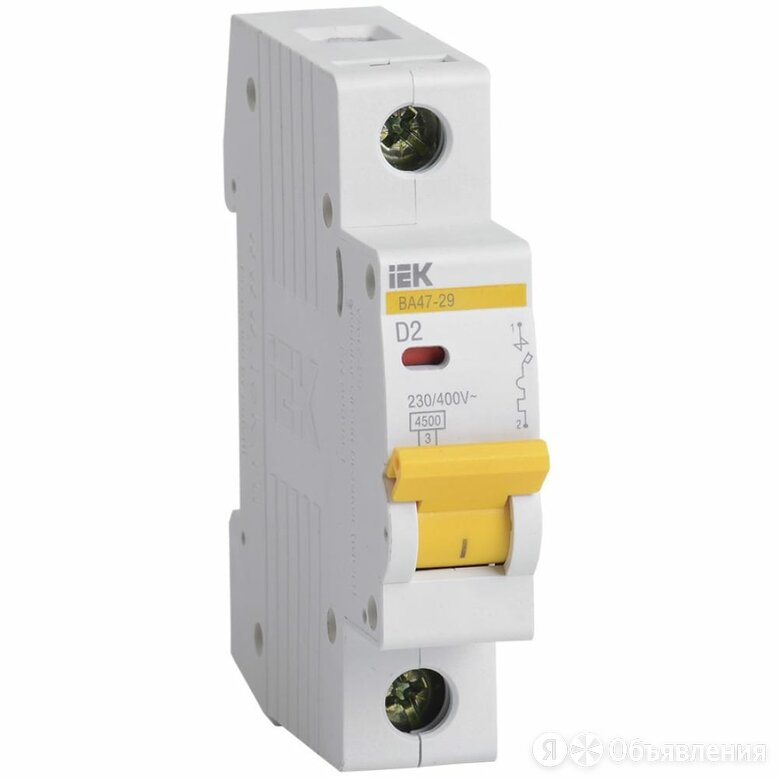 Автоматический выключатель IEK ВА47-29 по цене 279₽ - Защитная автоматика, фото 0