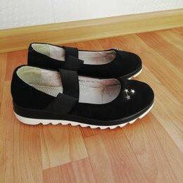 Балетки, туфли - Школьные туфли для девочки, 0