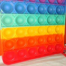 Игрушки-антистресс - Поп ит игрушка антистресс резиновый цветной, 0