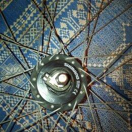 Обода и велосипедные колёса в сборе - Колесо в сборе с электрической втулкой shimano, 0
