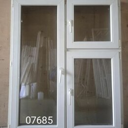 Окна - Пластиковое окно (б/у) 1440(в)х1160(ш), 0