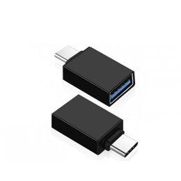 Зарядные устройства и адаптеры - Переходник OTG USB - Type-C OT-SMA01, 0