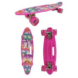 Скейтборды и лонгборды - Скейтборд Navigator Пони, пластиковые светящиеся колеса арт.Т17037, 0