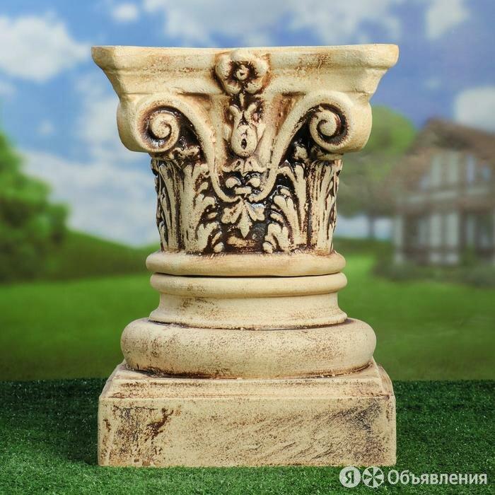 Садовая фигура 'Колонна', композитная, шамот, 48 см по цене 5850₽ - Садовые фигуры и цветочницы, фото 0