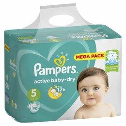 Средства для интимной гигиены - PAMPERS Active Baby Подгузники JUNIOR 11-16 кг     СК25%, 0