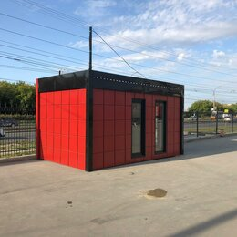 Готовые строения - Мобильный офис 5х3м для страховой , 0