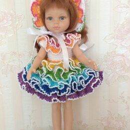 Аксессуары для кукол - Платье крючком макаруны для кукол паола рейна, 0
