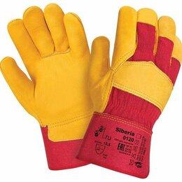 Средства индивидуальной защиты - Перчатки кожаные комбинированные (Магазин Стройформат), 0