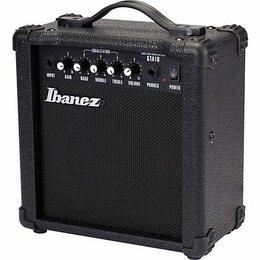 Гитарное усиление - Гитарный Комбик Ibanez GTA10 GTA-10. Доставка, 0