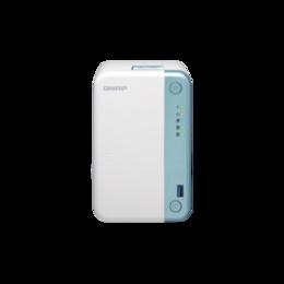 Сетевые накопители - Сетевое хранилище QNAP TS-251D-4G, 0