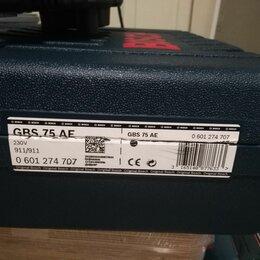 Шлифовальные машины - Ленточная шлифовальная машина Bosch GBS 75 AE, 0