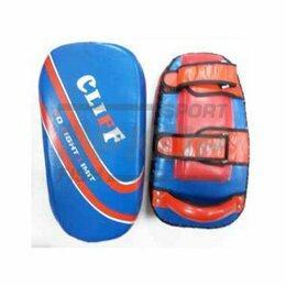 Тренировочные снаряды - Макивара боксёрский Клифф Спорт Hard Training натур кожа 50х20 см (х1), 0