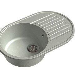 Кухонные мойки - Мойка врезная Granfest-QUARZ GF-Z18 каменная, 0