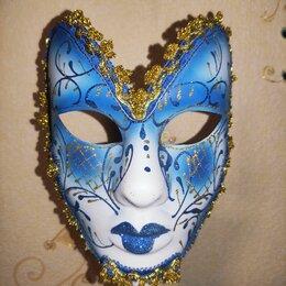 Карнавальные и театральные костюмы - Венецианская маска карнавальная , 0