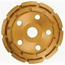 Для шлифовальных машин - Диск алмазный, 125мм ЧАШКА двухрядный MATRIX, 0