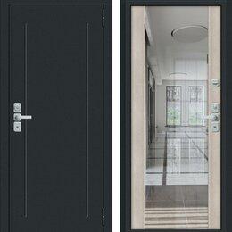 Входные двери - Входная дверь Глори Муар антрацит Cappuccino Veralinga, 0