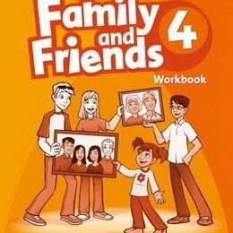 Обучающие плакаты - Family and Friends 4 Workbook, 0