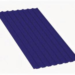 Кровля и водосток - Профнастил МП20 A Полиэстер 0,7 мм RAL 5002 Ультрамариново-синий, 0