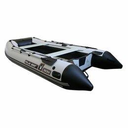 """Надувные, разборные и гребные суда - Лодка Polar Bird 360M """"Кречет"""" чёрно-белая, 0"""