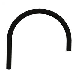 Комплектующие - Сменный гибкий шланг для смесителя Omoikiri Kanto OT-01-BL, 0