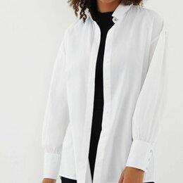 Блузки и кофточки - Рубашка женская из хлопка Zarina 40,44,46, 0
