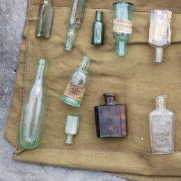 Этикетки, бутылки и пробки - Старинные аптекарские бутылочки, 0