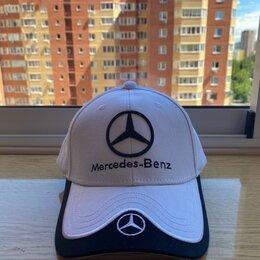 Головные уборы - Бейсболка «Mercedes», 0