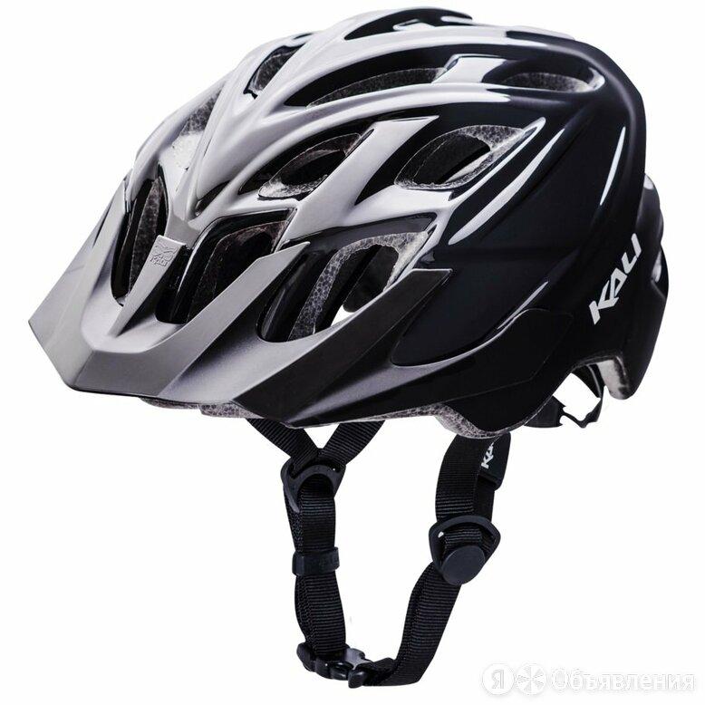 Шлем велосипедный KALI CHAKRA SOLO, TRAIL/MTB, CF, 21 отверстие. черный (Разме по цене 3315₽ - Защита и экипировка, фото 0